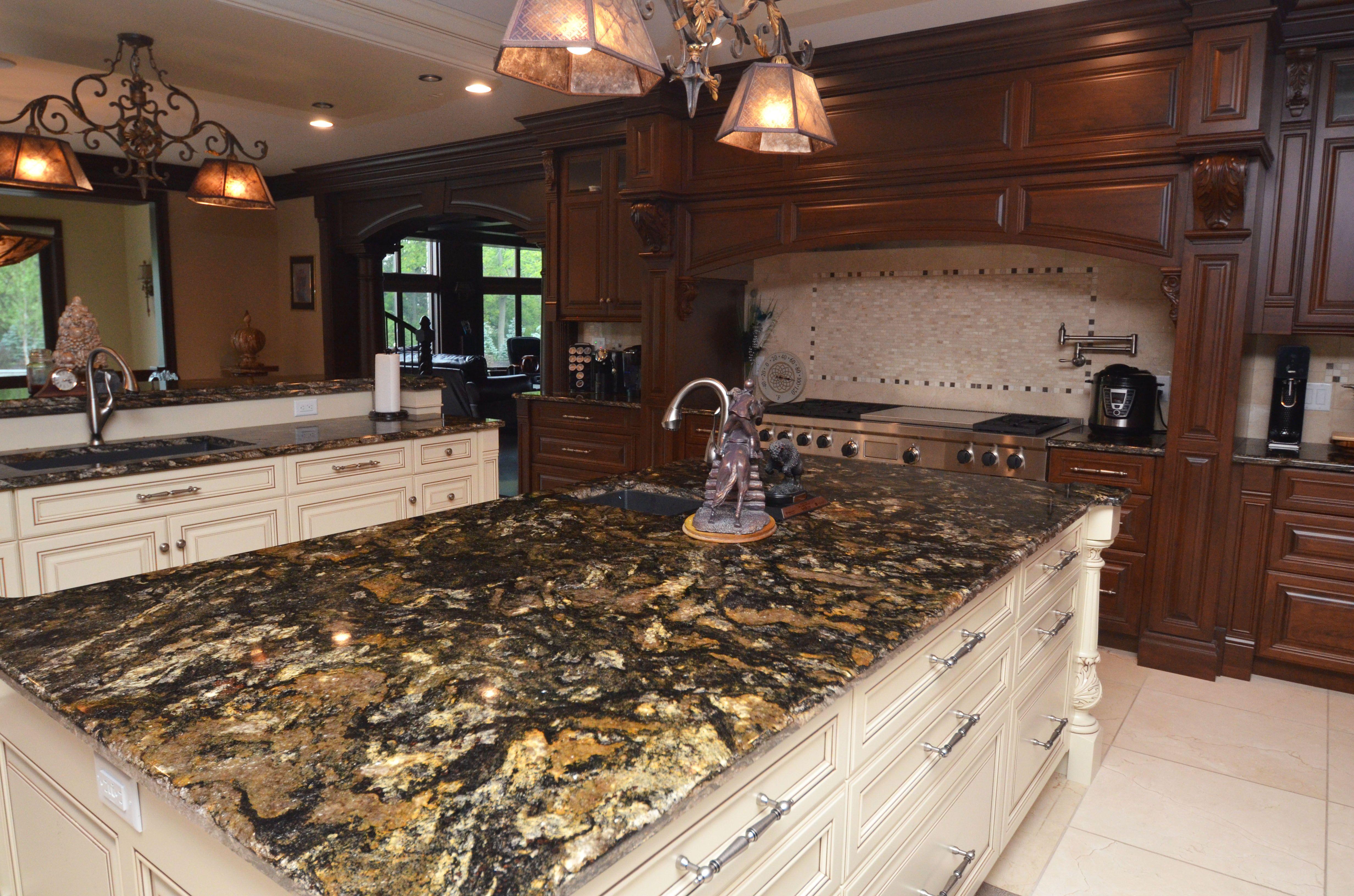 31+ Granite countertops for rustic kitchen ideas