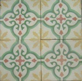 Cuban Tropical Tile Sofia Yellow In Stock
