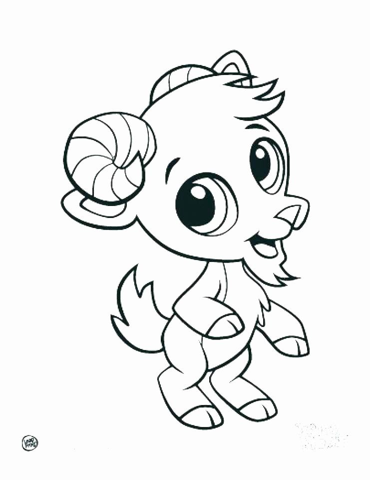 Cartoon Animals Coloring Pages Inspirational Cartoon Baby Animals Coloring Pages At Getdra Cute Coloring Pages Animal Coloring Pages Farm Animal Coloring Pages