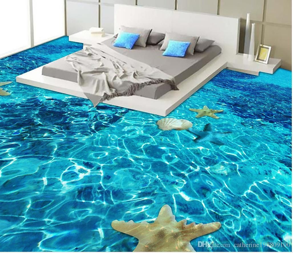 13 3d Bathroom Floor Designs That Will Mess With Your Mind Ocean Bathroom Floor Design Amazing Bathrooms