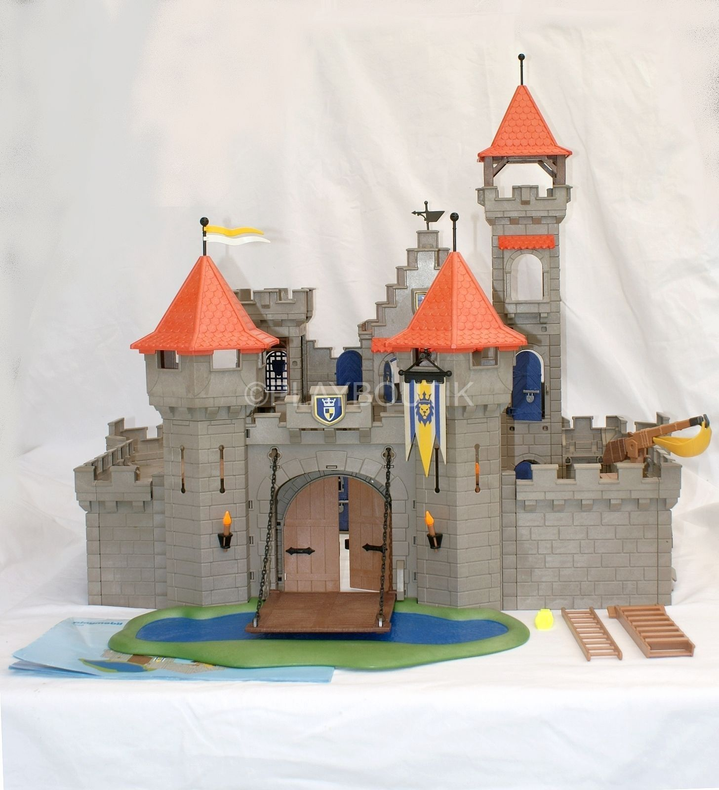 Playmobil chevalier ch teau fort 3268 moyen age for Plan chateau fort playmobil