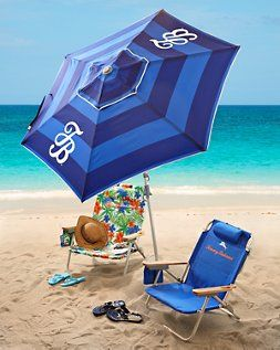 Love My Tommy Bahama Beach Chairs And Matching Umbrella From