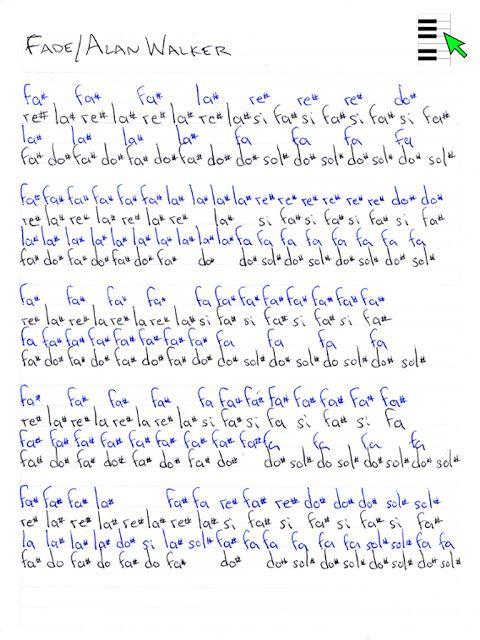 Notas En La La Trompeta De Cancion Navidad