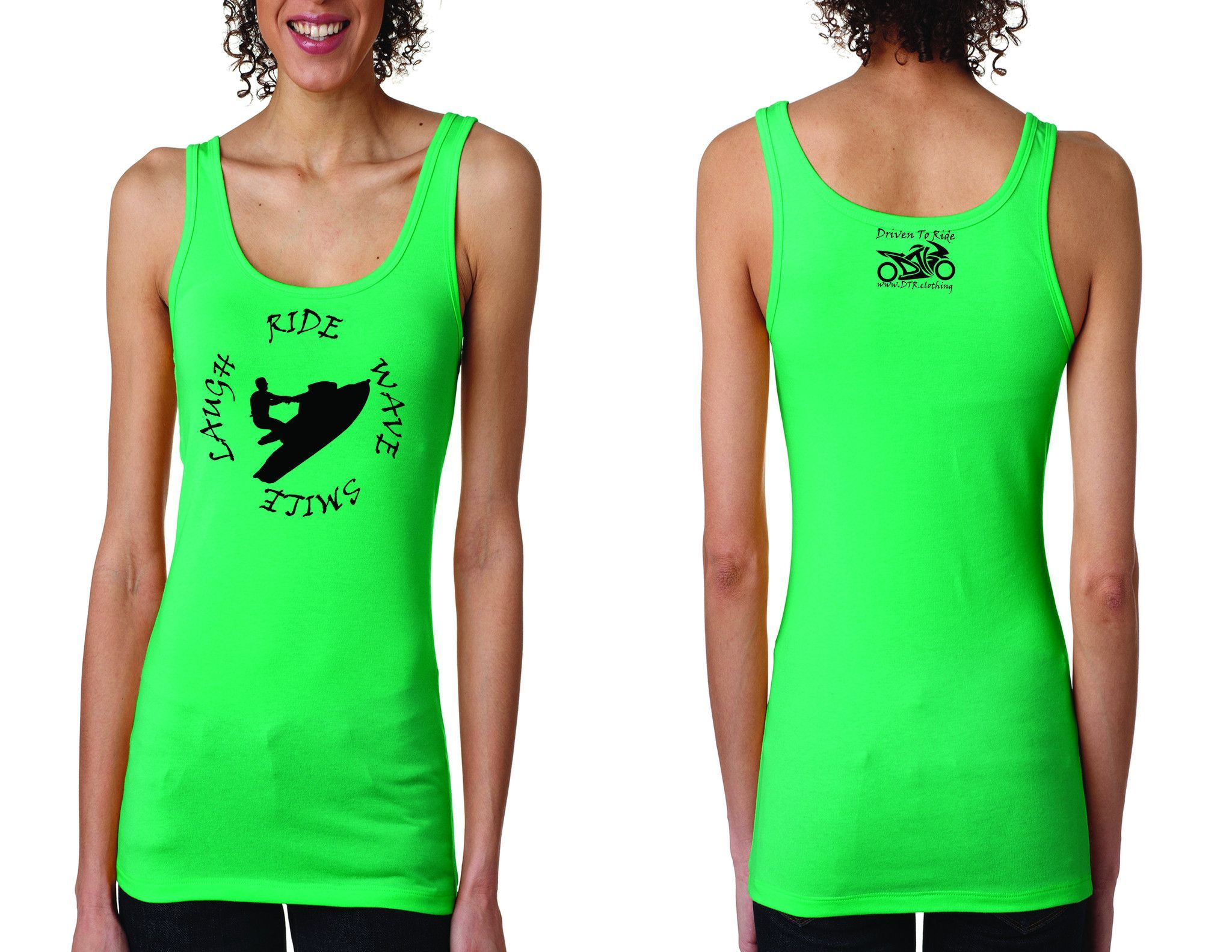 Women's Wave Tank Top