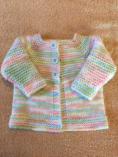 Photo of Ravelry: Babbity Baby Jacket pattern by marianna mel