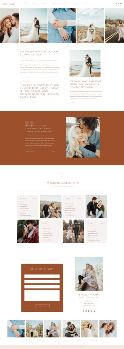 Pin On Feminine Website Design