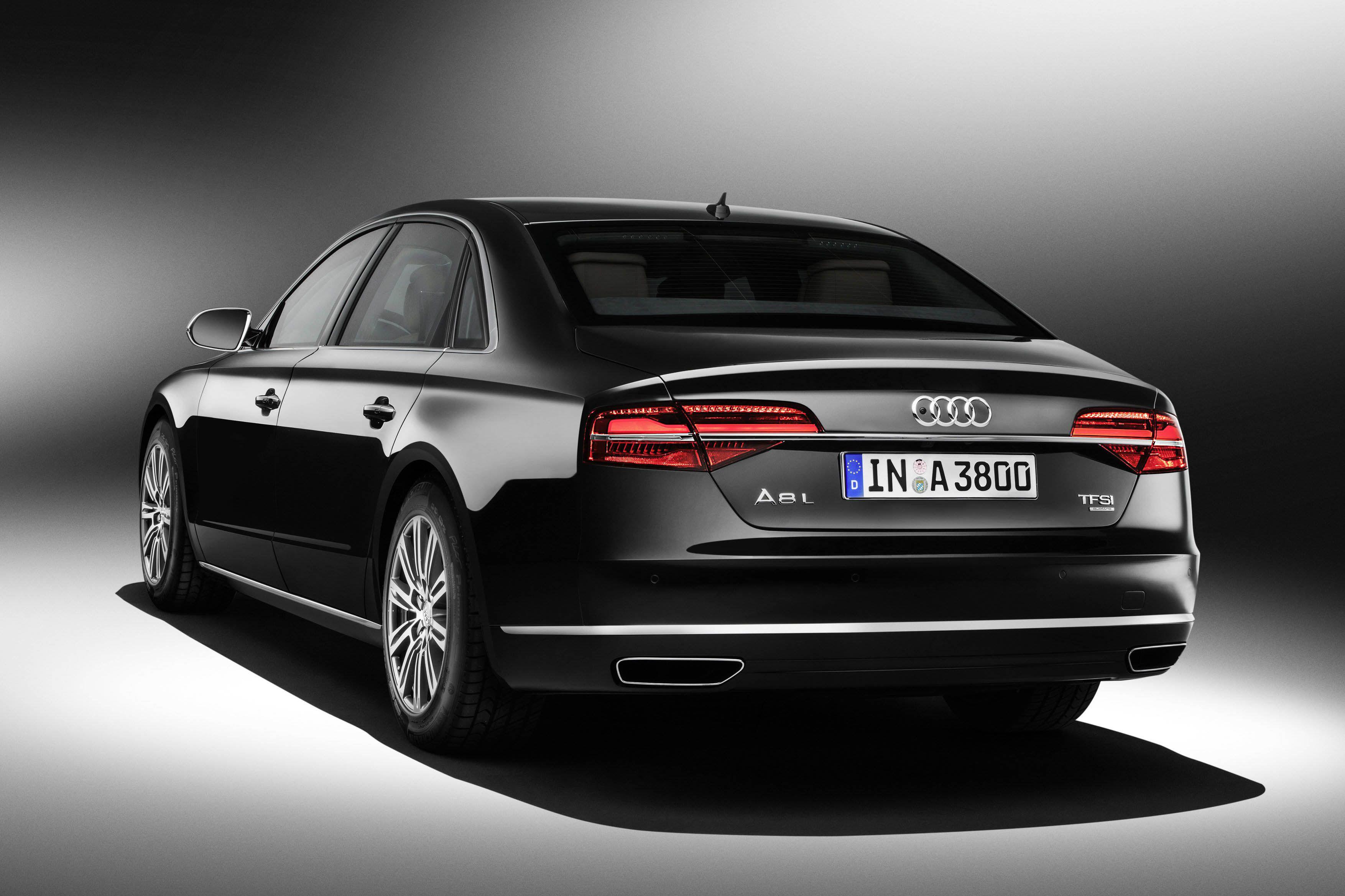 Voor als je niet geliefd bent: Audi A8 L Security