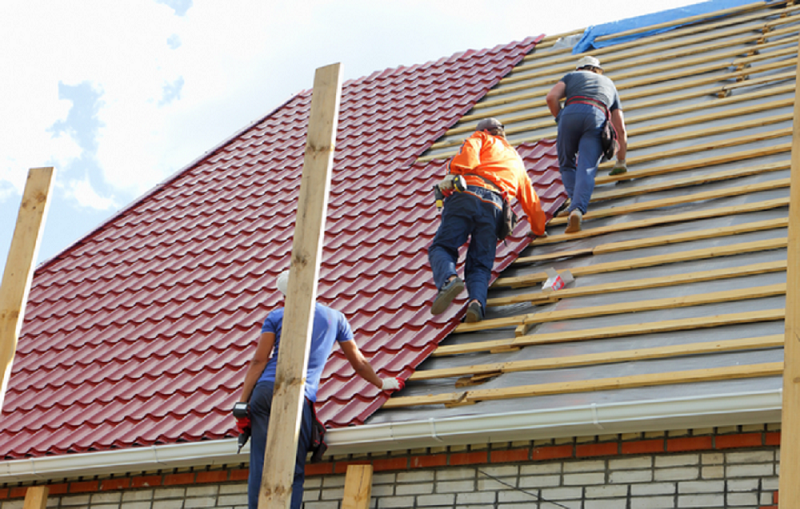 If You Are Renovating Your Roof And Planning To Throw Away The Old Tiles Then Don T Roof Til Roof Installation Flat Roof Replacement Metal Roof Installation