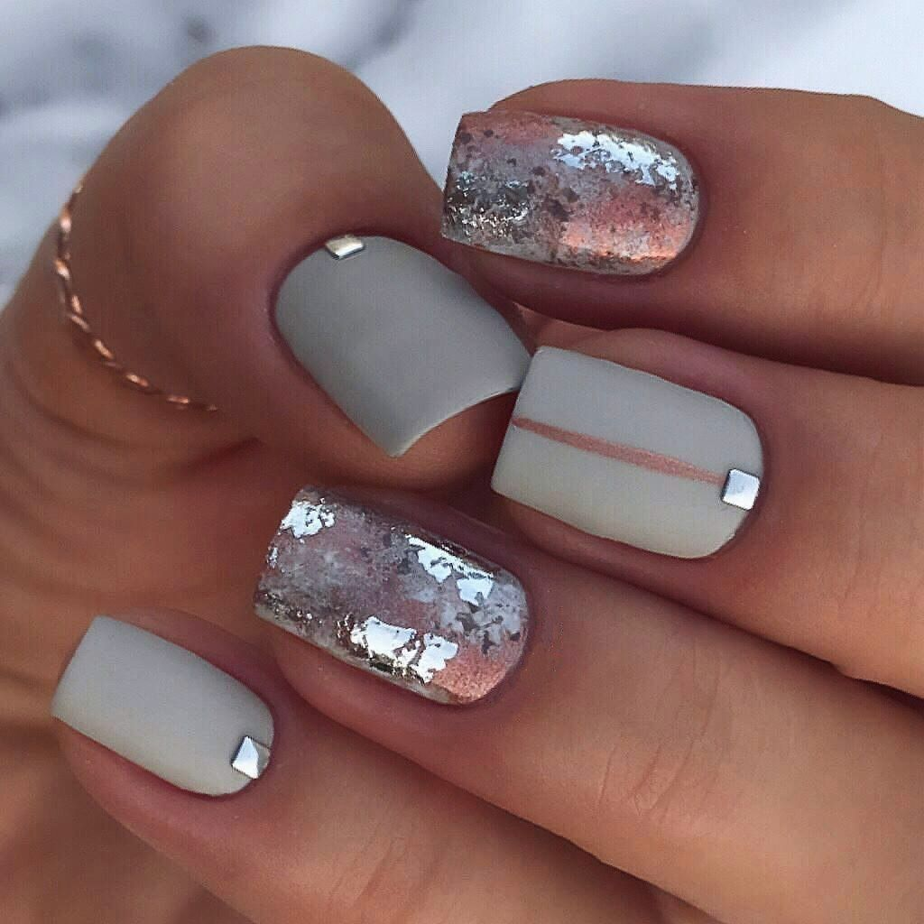 48 Adorable Winter Nail Art Ideas 2018 Trendy Nails Matte Nails
