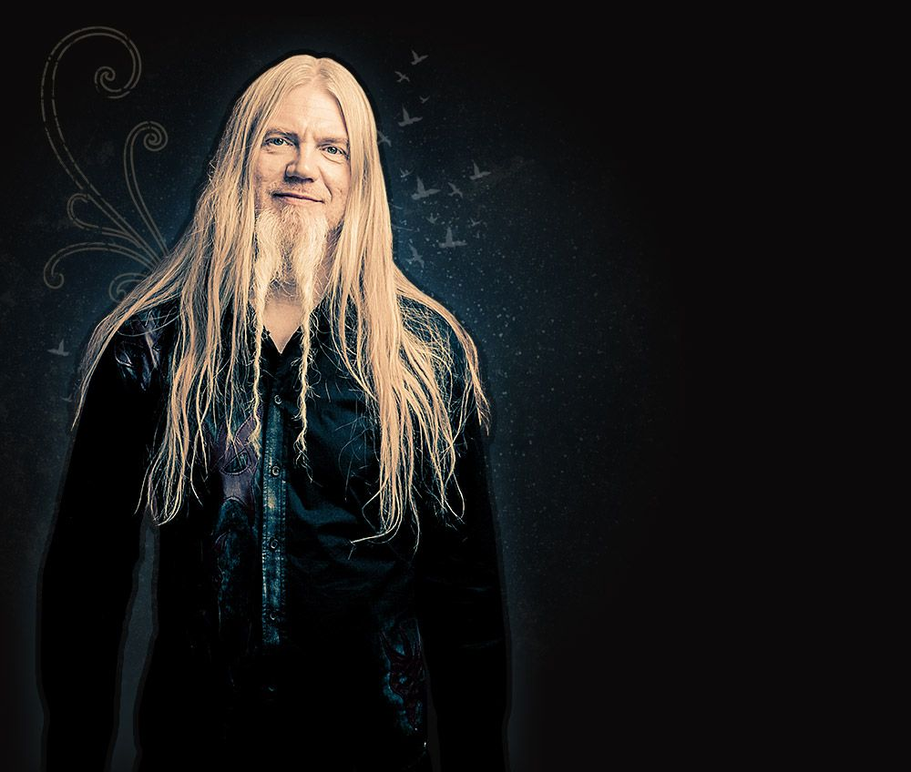 Marco Hietala from Nightwish. Was a huge fan of this band ...