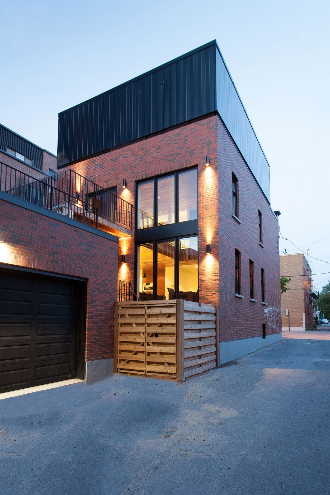 Wonderful Appareil Architecture Designs A Single Family Home In Montreal, Canada Pictures Gallery