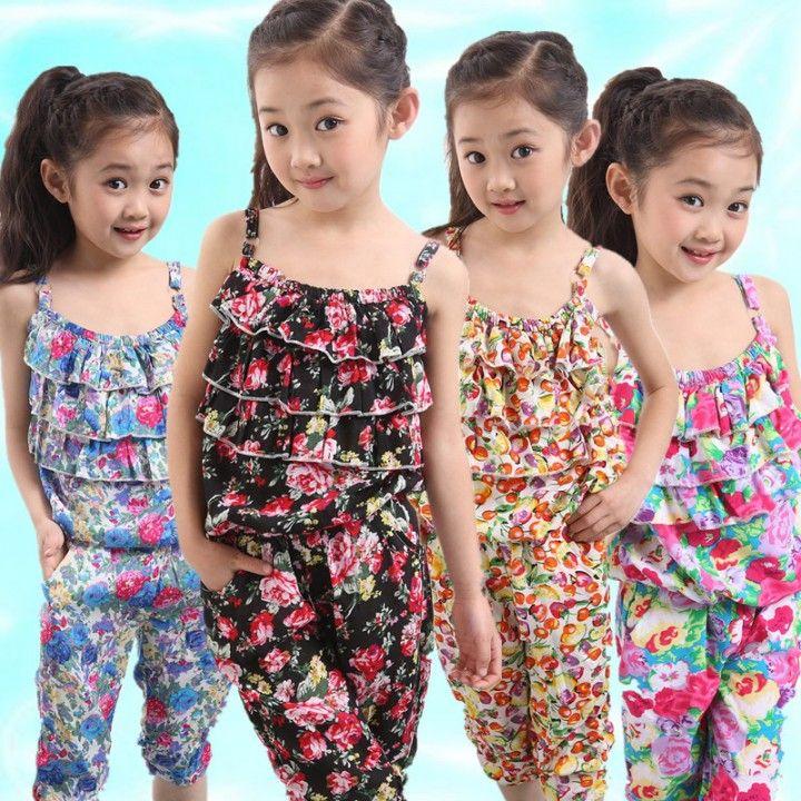 Conjuntos De Ropa Para Ninas 5 Kids Summer Dresses Baby Girl Frocks Kids Outfits