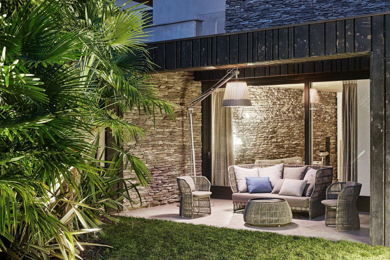 House window sunshade design  private home by christopher ward studio  reggio emilia italy