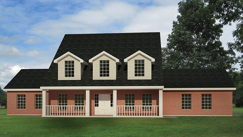 Home Plan HOMEPW77221 - 2519 Square Foot, 4 Bedroom 2 ...