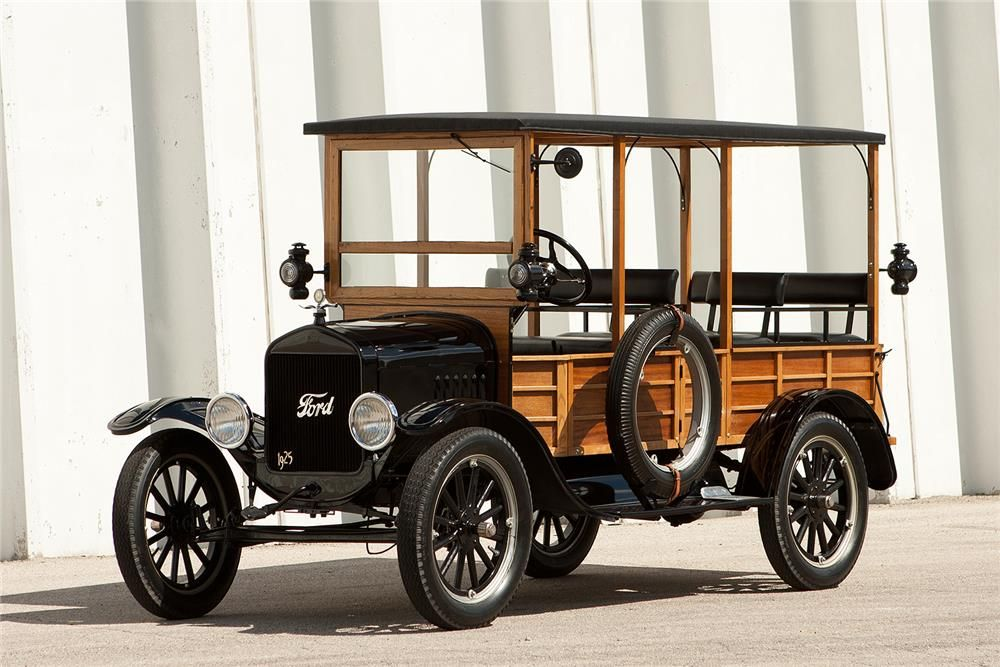 1925 FORD MODEL T DEPOT HACK - Barrett-Jackson Auction Company ...