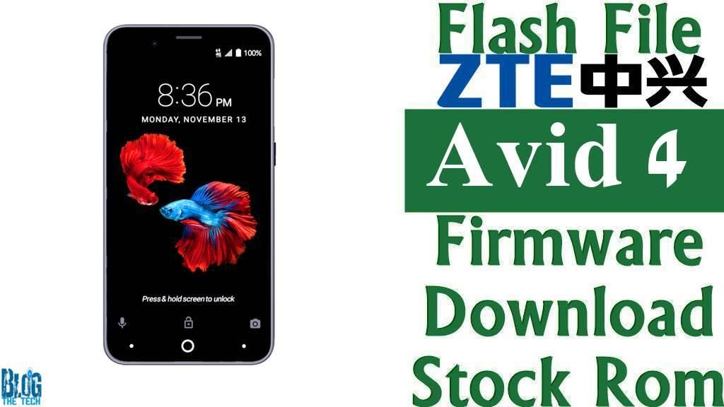 Flash File] ZTE Avid 4 Z855 Firmware Download [Stock Rom