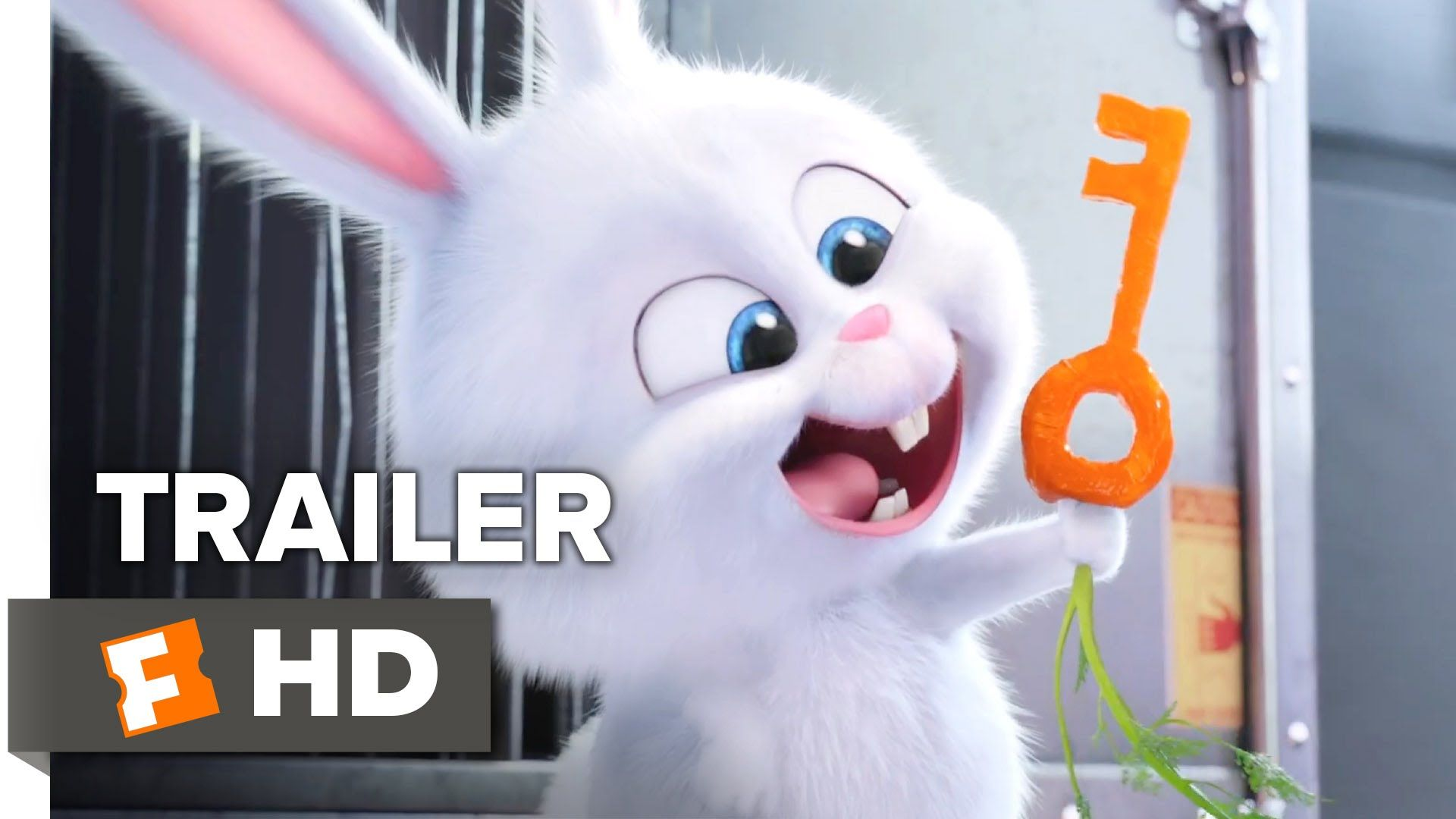 The Secret Life Of Pets Official Snowball Trailer 2016 Kevin Hart Jenny Slate Movie Hd Secret Life Of Pets Animated Movies Kid Movies
