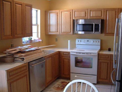 RTA Kitchen Cabinet Furniture (Dengan gambar)