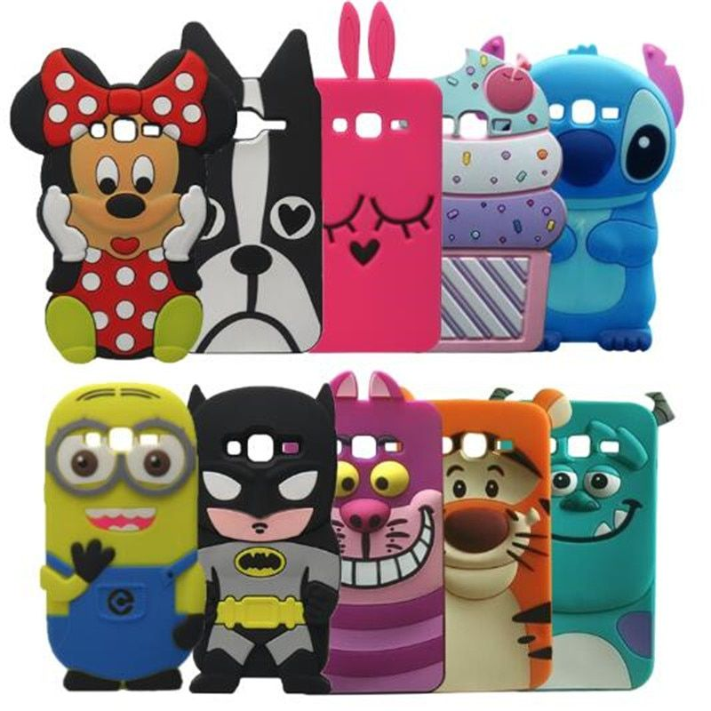 New Stitch Sulley Minnie Hello Kitty Silicone Cases For Samsung ...