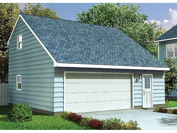 047g 0009 Garage Loft Plan With Cape Cod Styling Garage Plans Garage Plans With Loft Garage Workshop Plans