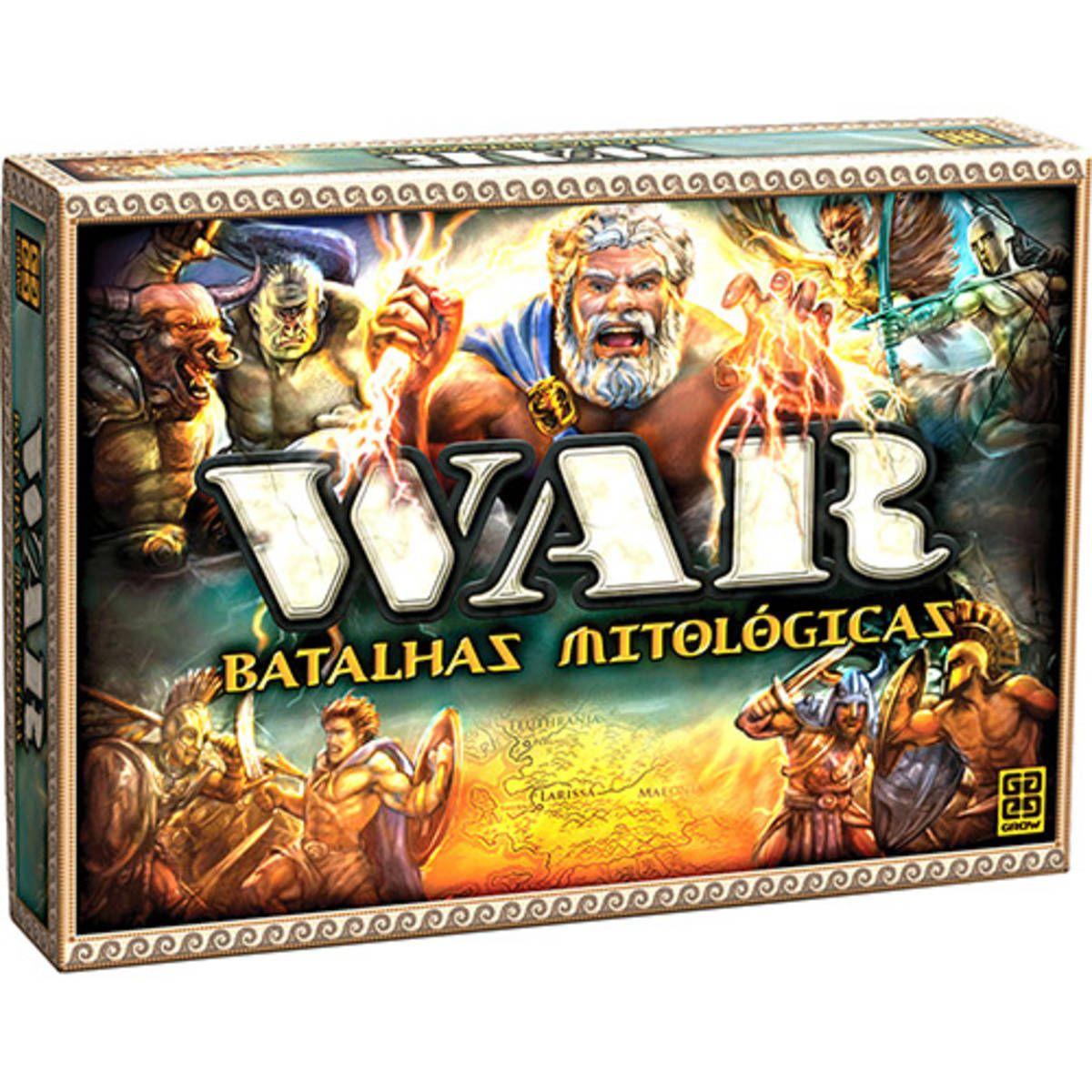 War Batalhas Mitologicas Jogo De Tabuleiro Grow Usado 13303885 Enjoei Jogos De Tabuleiro Jogos Tabuleiro