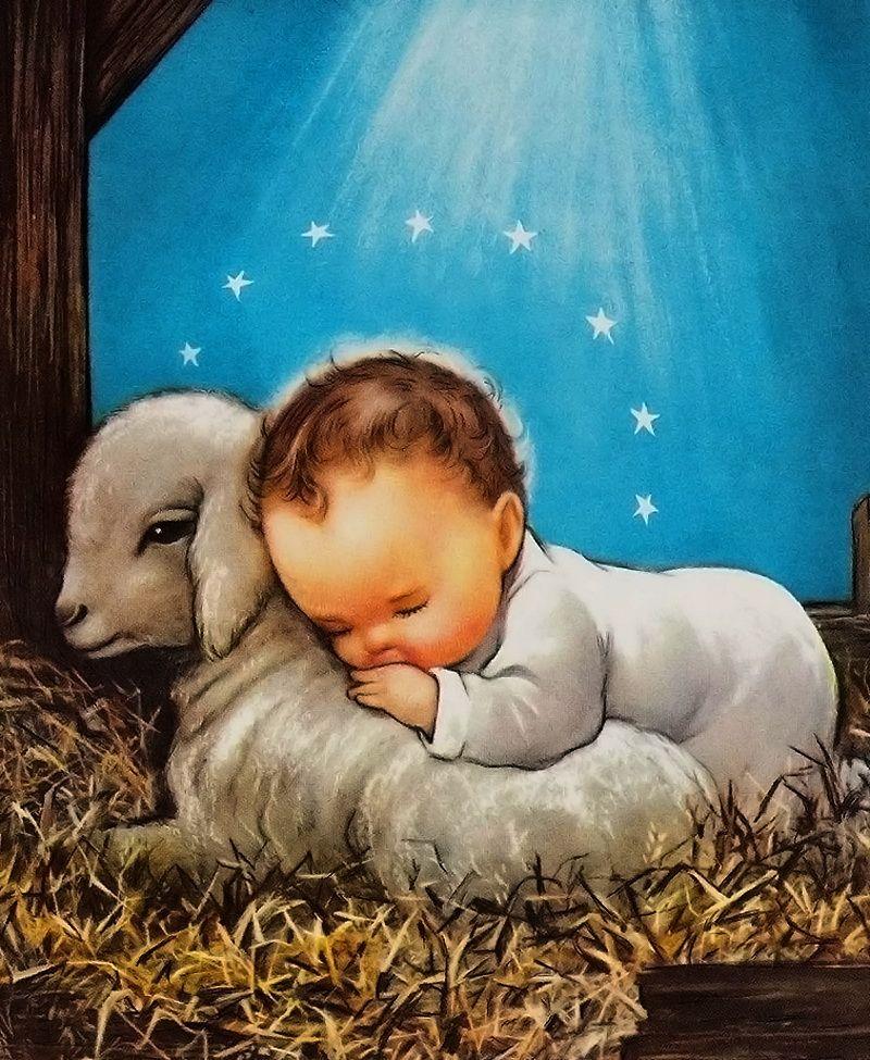 картинка младенец христос наступил самый ожидаемый