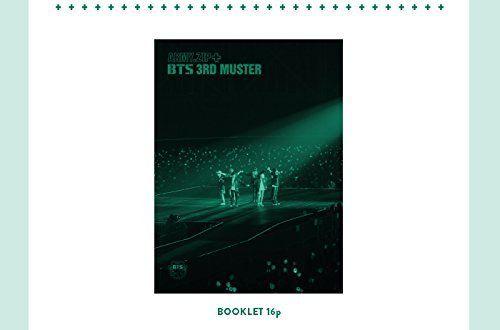 BANGTAN BOYS BTS 3rd MUSTER [ARMY ZIP+] Blu-ray+Photobook+Pre-Order