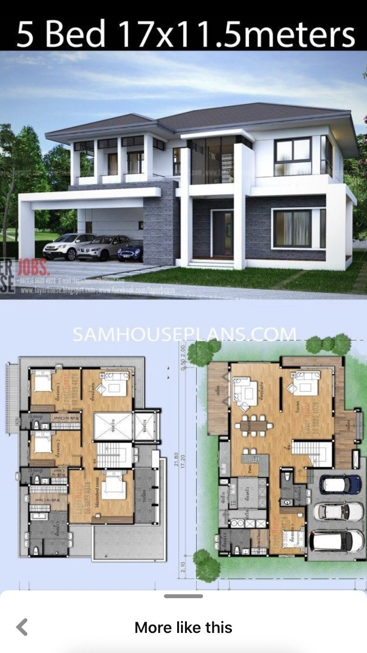 Pin By Saiful Rizal On Casa Nueva In 2020 Exterior Siding House Floor Plans