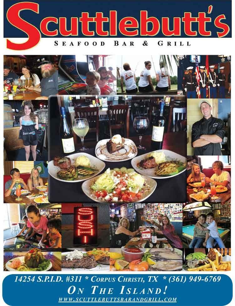 Scuttles Corpus Christi Seafood Bar Grill Restaurant Coastal 14254 S P I D Suite 311 Tx 78418