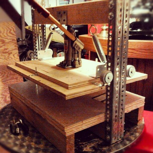 DIY printing press   DIY   Printing press, Prints, Letterpress printing