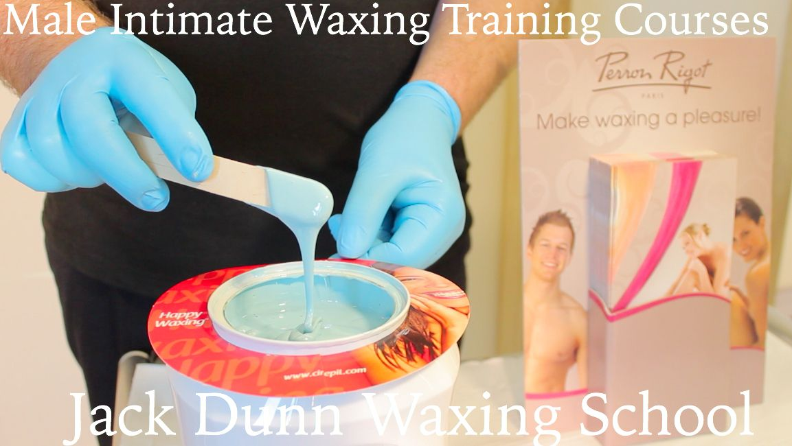 Discover how to carry out male waxing techniques in London with Jack Dunn  Fully accredited one day training courses, including theory and practical assessment for both 1-1 or small group workshops. Learn the art of male intimate waxing using non-strip waxes and improve your hair removal business.