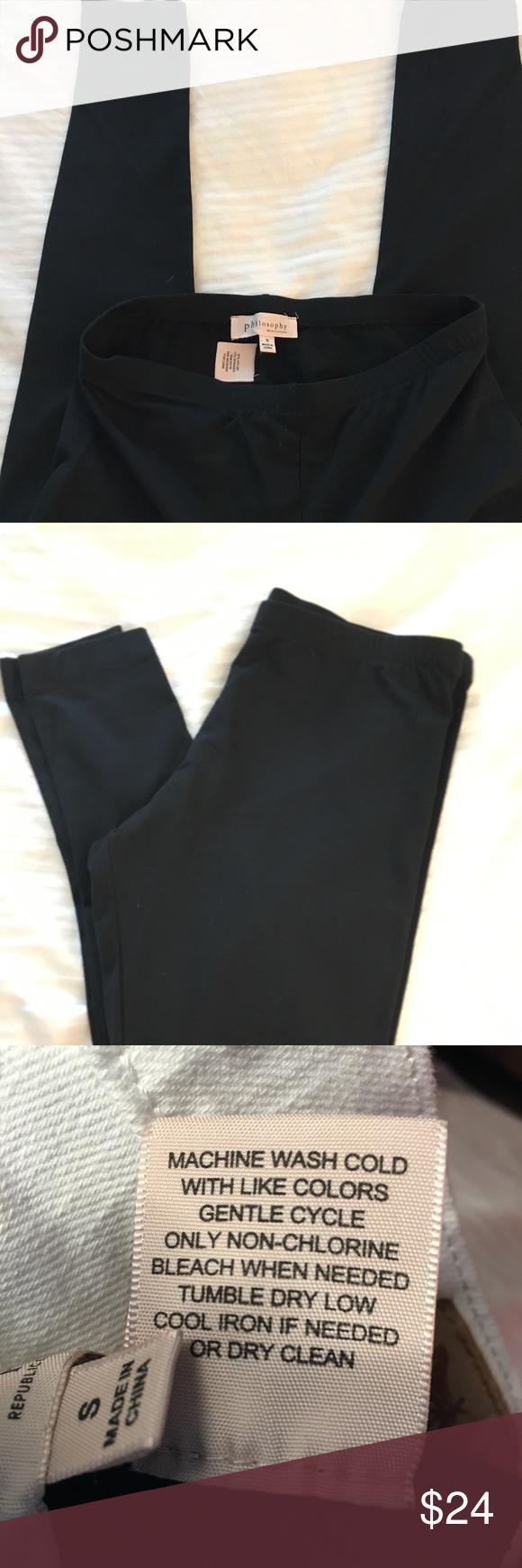 Philosophy Leggings Never Worn Worn Clothes Design Pants For Women