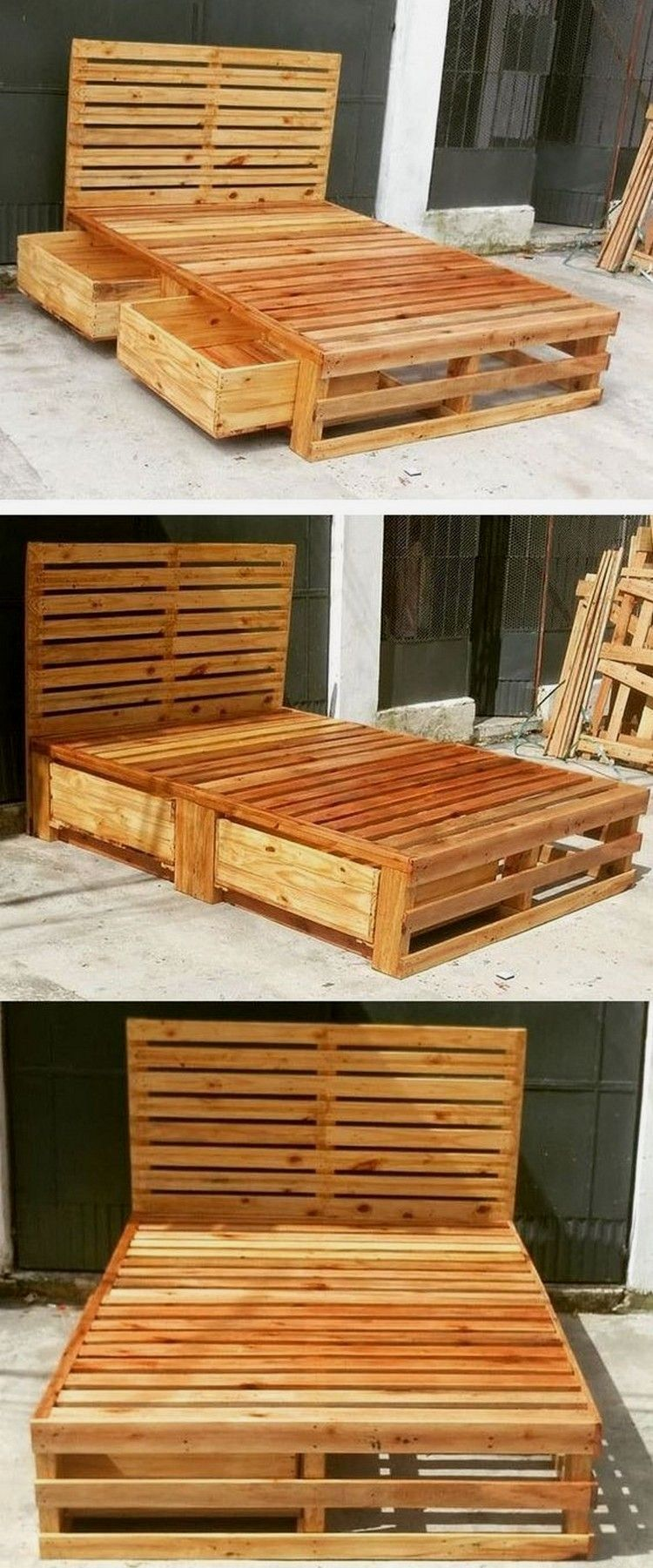 How to make a DIY Pallet Bed? palletideas, 2020