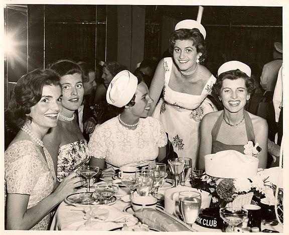 """mrsjohnfkennedy: """"Jackie, Pat, Ethel, Jean and Eunice Kennedy """""""