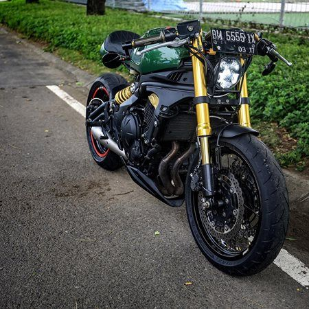 Kawasaki Ern Custom Headlight