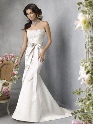 Wedding dress on a budget