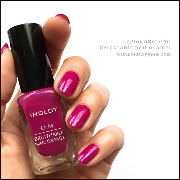 INGLOT O2M BREATHABLE NAIL ENAMEL SWATCHES & REVIEW   Swatch, Halal ...