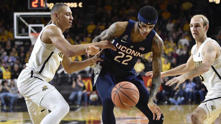Pictures UConn Men at Wichita State (With images