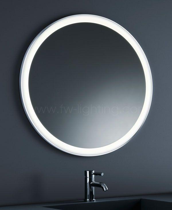 Baulmann Leuchten LED mirror. Warm White (3000K) LED edge lit ... on