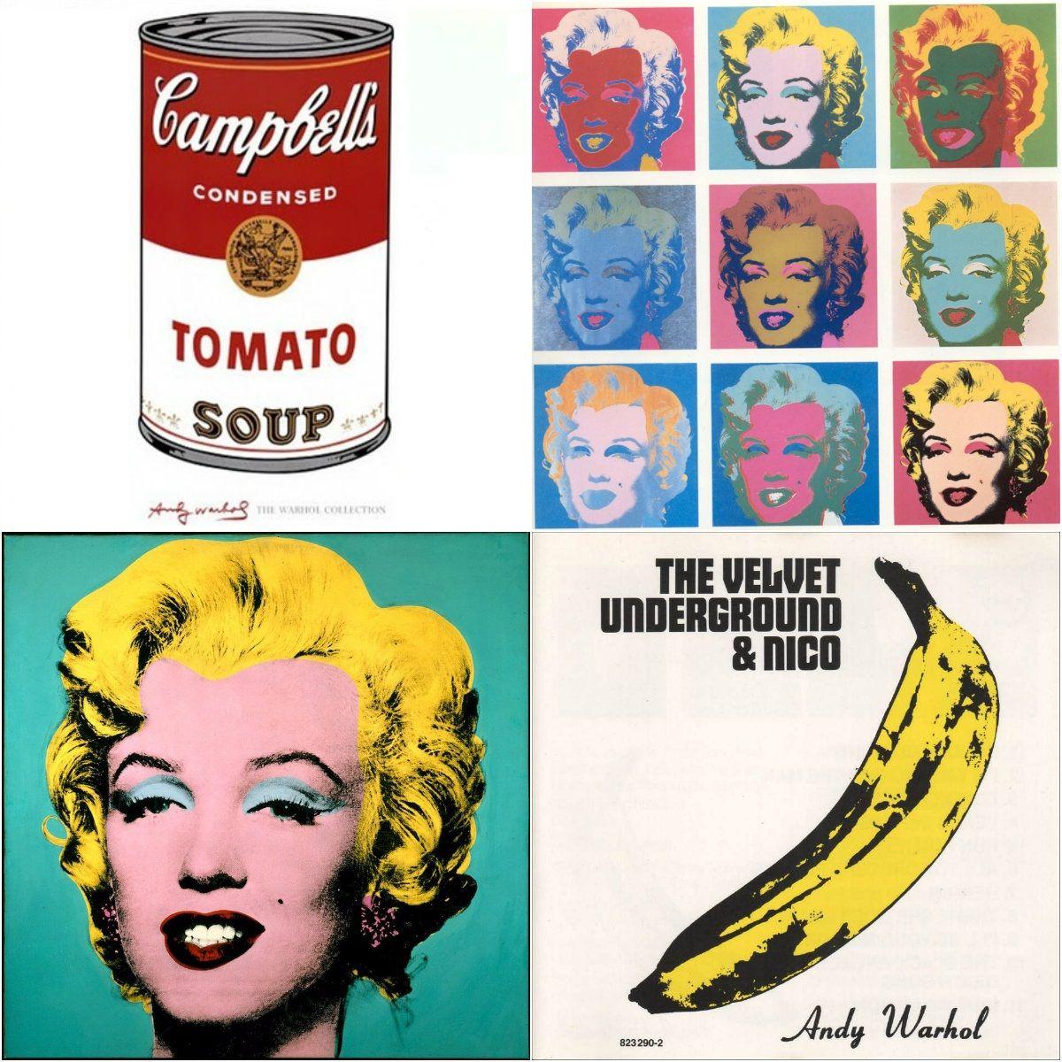 Andy Warhol Beruhmte Werke Pop Art