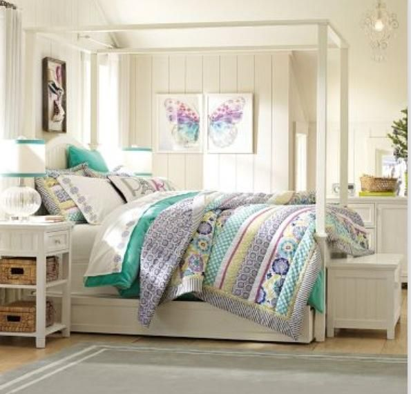 Pottery Barn Teen Bed #4 - Love The Bed: Pottery Barn Teen | Pottery ...