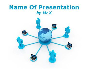 Human computers network powerpoint template technology powerpoint human computers network powerpoint template toneelgroepblik Images