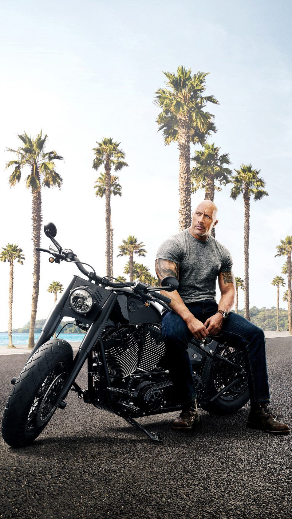 Download Dwayne Johnson In Fast Furious Presents Hobbs