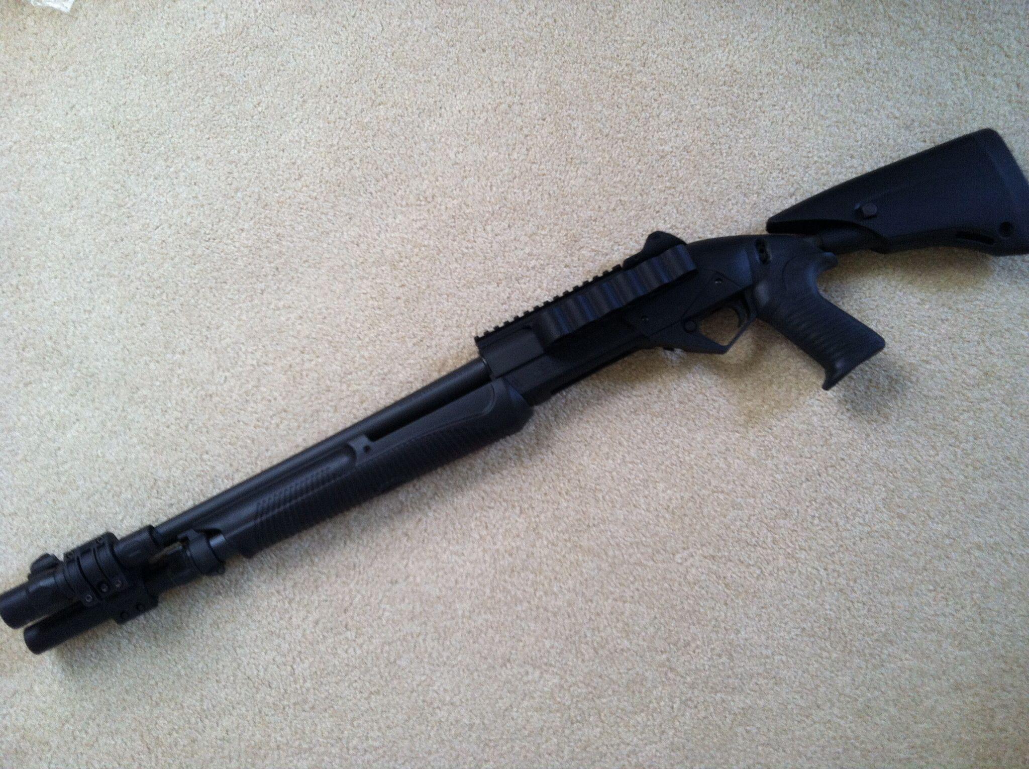 benelli supernova tactical shotgun 185quot barrel 12gauge