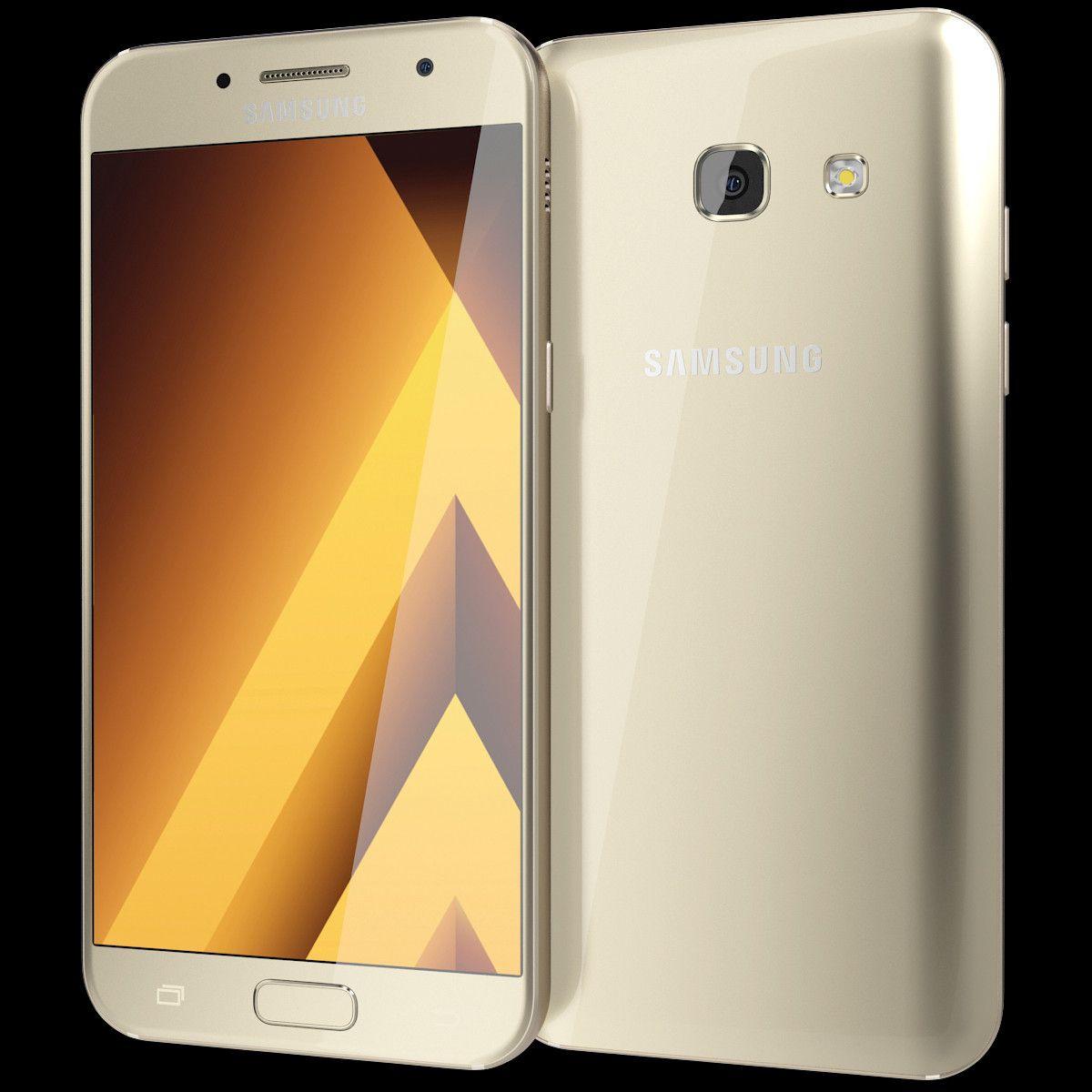 3d Realistic Samsung Galaxy A5 Model Modeling J120 2016 8gb White