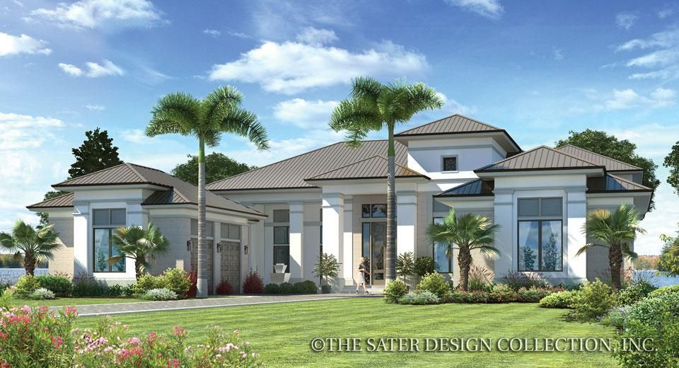 The stillwater home plan l sater design collection l luxury house plans homeplans · modern