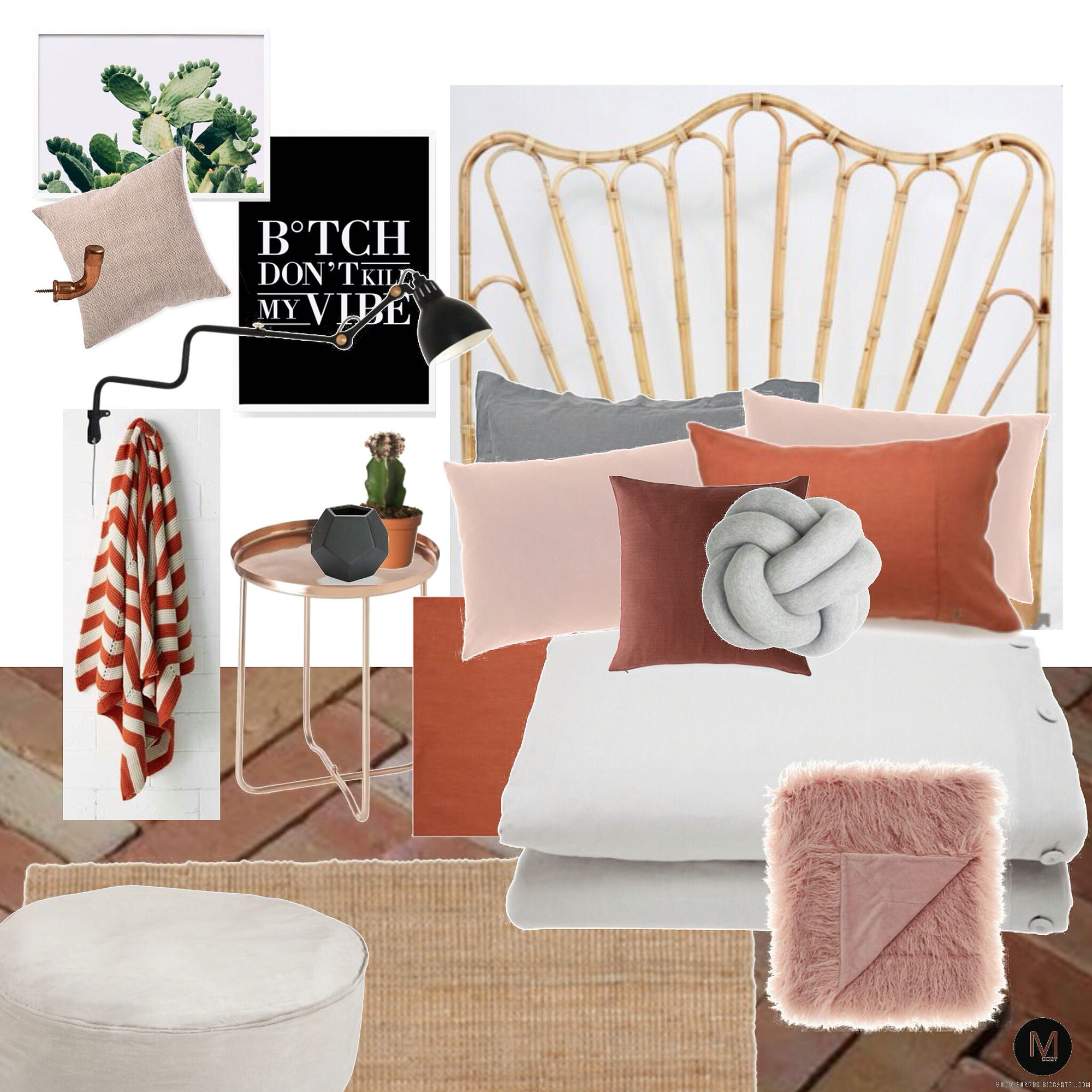 Terracotta Bedroom Designs: Loving This Colour Palette... Clay