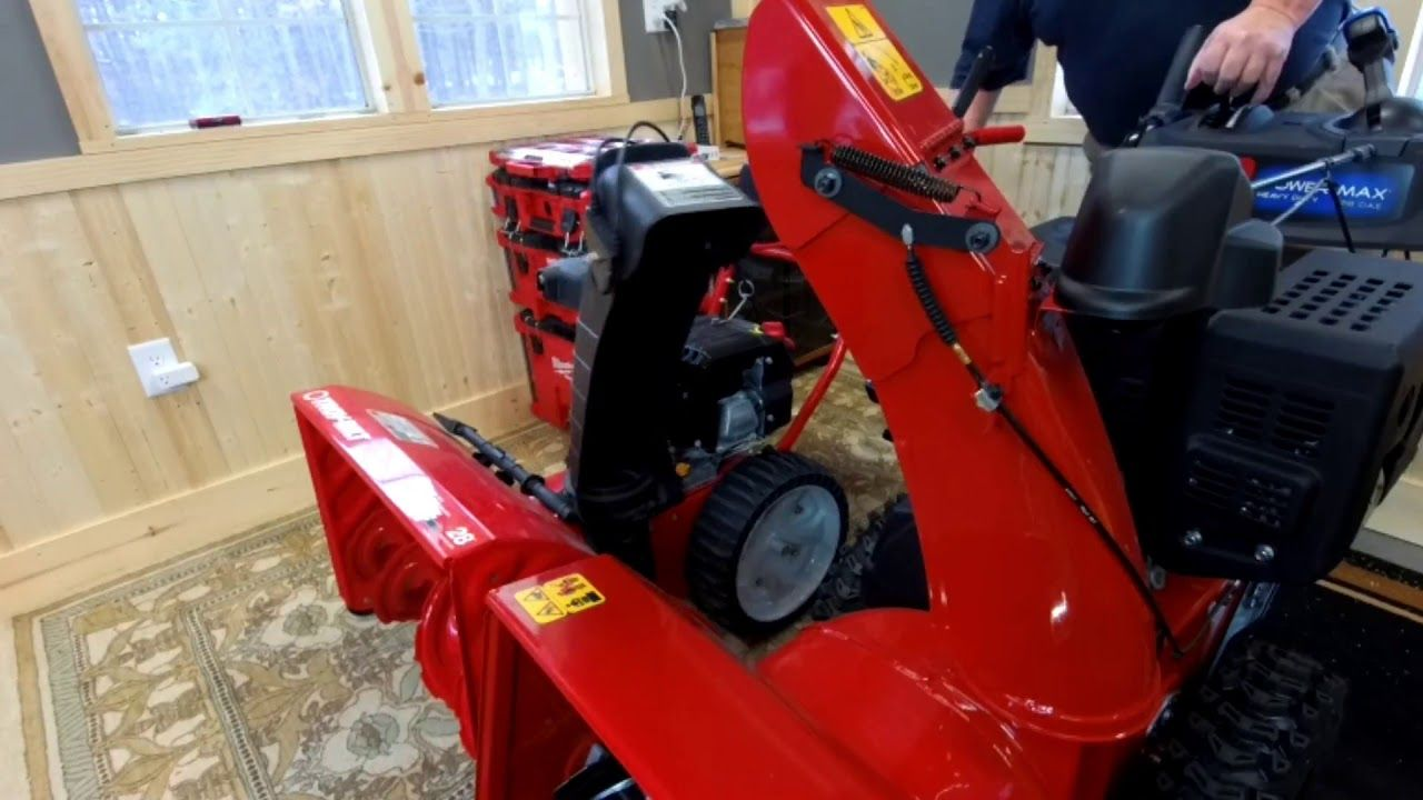 Troy Bilt Storm Or Toro Power Max Hd What S The Difference Storm Troy Snow Blowers
