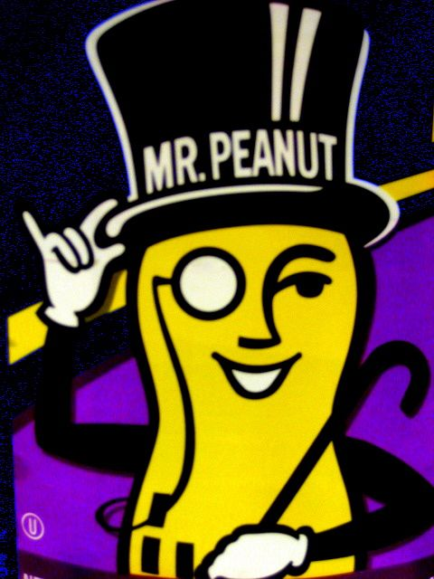 Mr. Peanut for Planters Peanuts http//adweek.it/LSCBs0