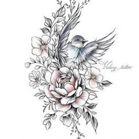 Bird Tattoo Shoulder Drawings 26+ Ideas